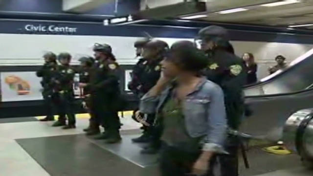 Protests disrupt Bay Area transit
