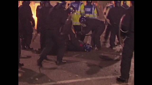 Social media scrutiny after UK riots