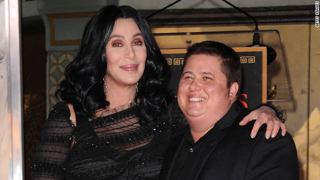 """Chaz Bono thanked his mother, Cher, for defending his decision to join ABC's """"Dancing With the Stars."""""""