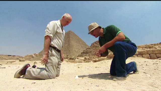 The Revealer: Egypt pyramids location