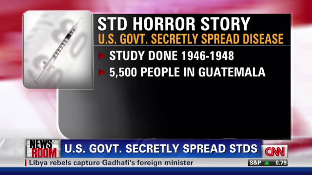 U.S. govt. secretly spread STDs