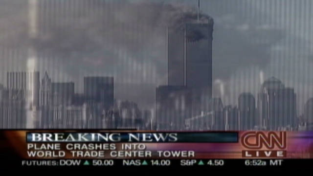 911 first reports of plane into tower_00042112
