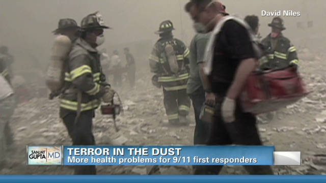 9/11 first responders' 'cancer club'