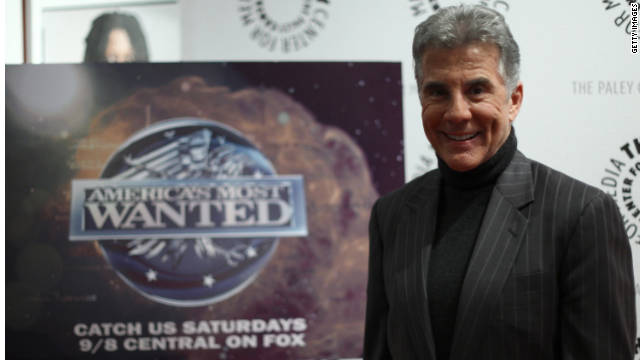 "Hosted and executive produced by John Walsh, ""America's Most Wanted"" helped capture more than 1,100 fugitives in the U.S."