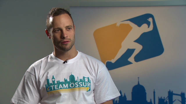 Pistorius on Championship experience