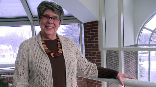 School nurse Ronda Harrison has more than 15,000 students in 23 buildings under her care.