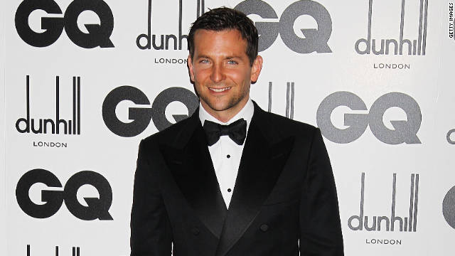 Bradley Cooper received the International Man accolade at the GQ Men of the Year Awards in London.
