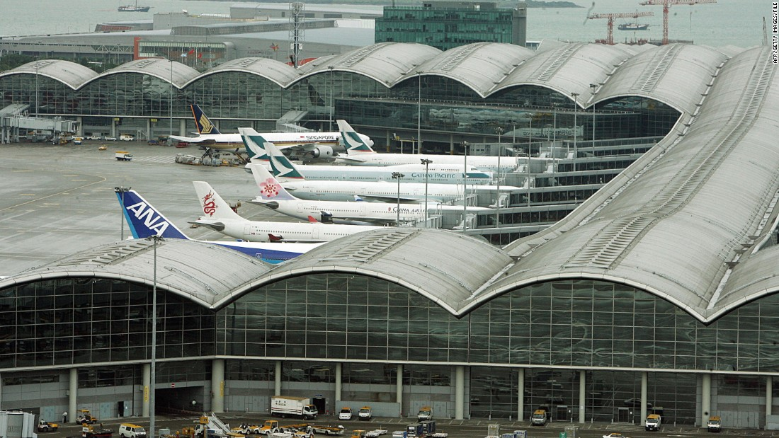 <strong>5. Hong Kong International Airport --</strong> Once voted the world's best airport, Hong Kong International Airport now sits at No. 5 -- retaining the same position as 2016.