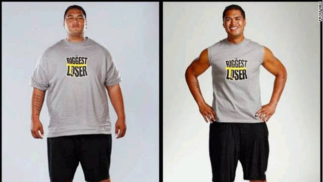 "Sam Poueu lost 142 pounds on season nine of ""Biggest Loser."""