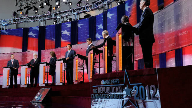 GOP presidential candidates debate on September 7. Roland Martin notes there are many more than two candidates.