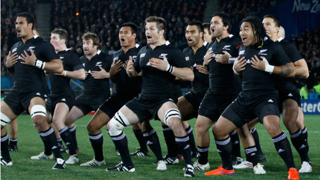 New Zealand loves the haka