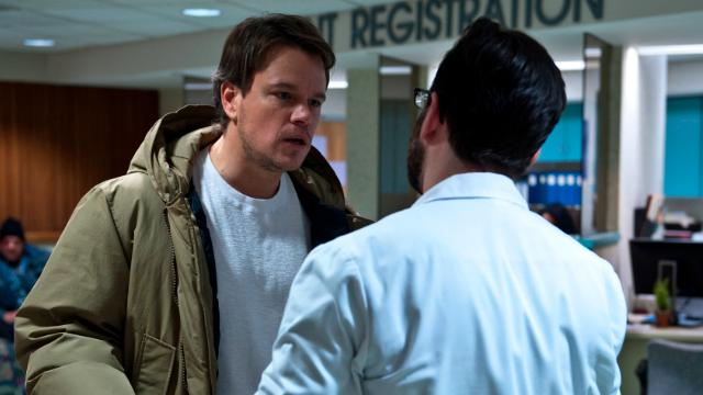 """Contagion"" features an Oscar-endorsed cast including Matt Damon and Kate Winslet."