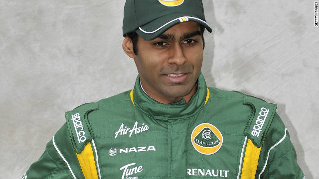 Karun Chandhok made his only grand prix appearance so far this season in Germany in July.