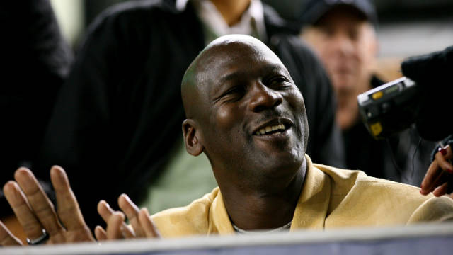 Michael Jordan turns 50 on the day of this year's NBA All-Star Game.