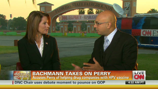 Bachmann a 'champion' for Americans