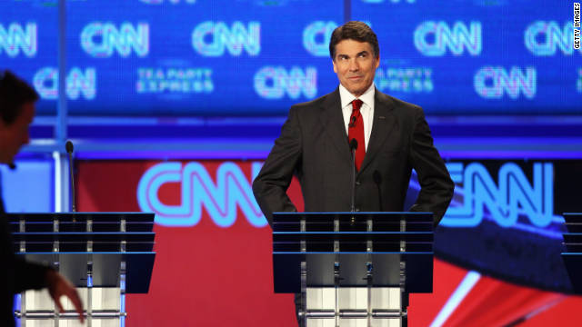 Gov. Rick Perry was criticized at Monday's GOP debate for taking contributions from Merck, a company that stood to benefit from his 2007 executive order requiring HPV vaccinations.