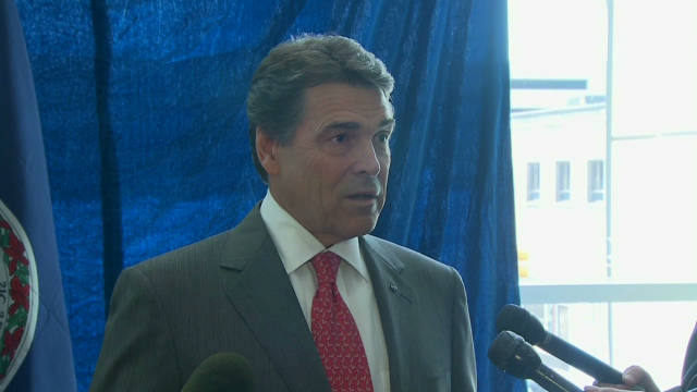 Perry responds to Bachmann HPV claims