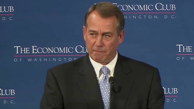Boehner: 'Job creators on strike'