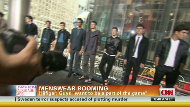 Designer menswear is booming
