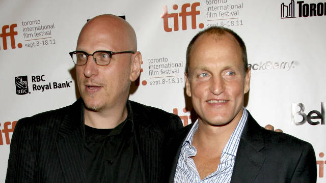 "Woody Harrelson, right, has never given such a commanding and well-rounded performance as he shows us in ""Rampart."""