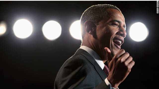 President Obama speaks before signing the America Invents Act at Thomas Jefferson High School Friday in Alexandria, Virginia.
