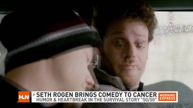 Seth Rogen's new film: 'cancer comedy'?