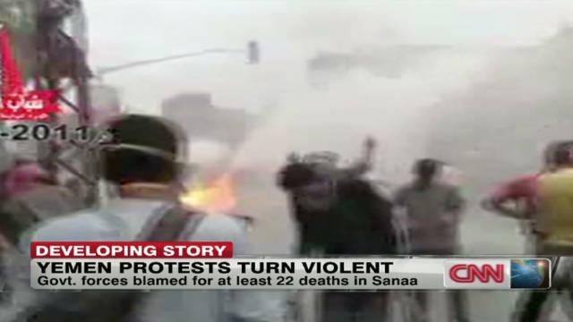 Deadly clashes in Yemen