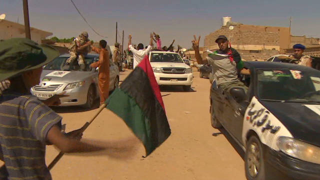 Newly liberated in Libya