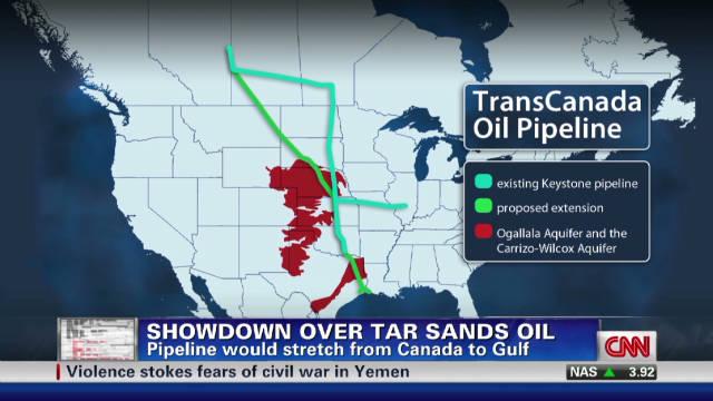 """Hannah: Canadian tar sands pipeline """"bad news"""""""