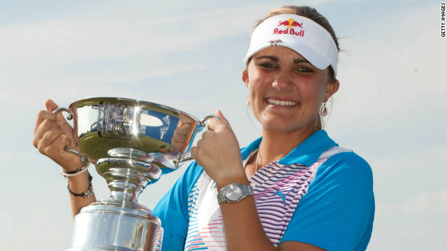 Lexi Thompson became the youngest-ever winner of the junior PGA Championship in 2007.