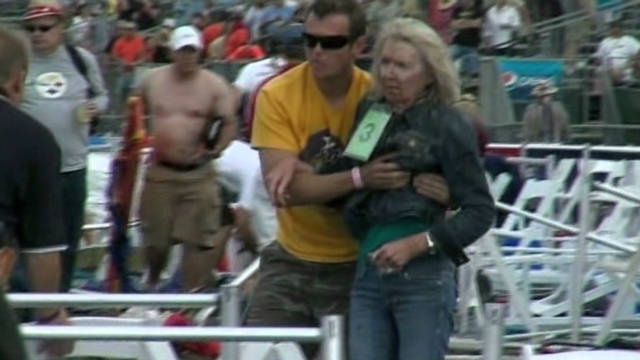 Air show nurse: 'Injuries were horrific'