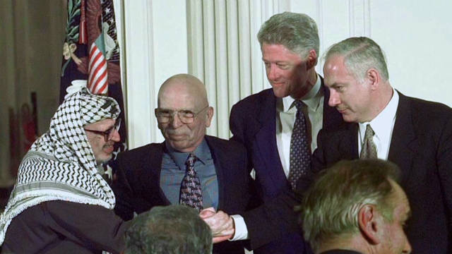 Two decades of U.S. role in Mideast peace