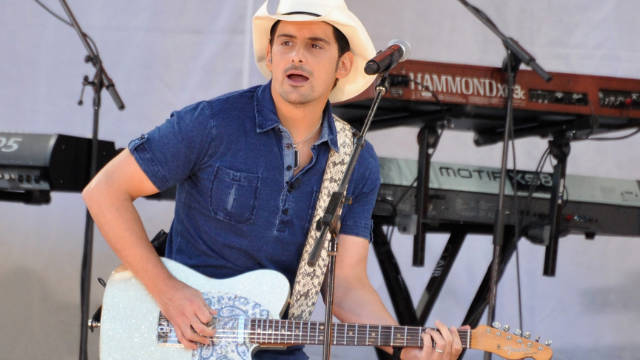 Brad Paisley is also co-hosting the CMA Awards with Carrie Underwood.