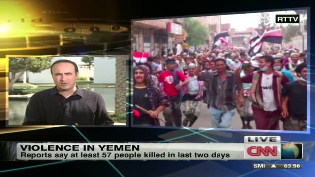 Violence escalates again in Yemen