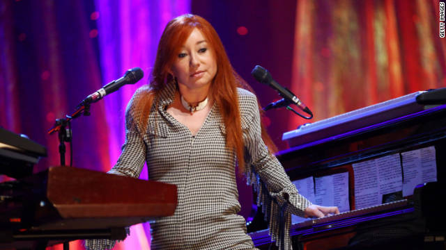 "Tori Amos returns to the piano for her newest album, ""Night of Hunters."""