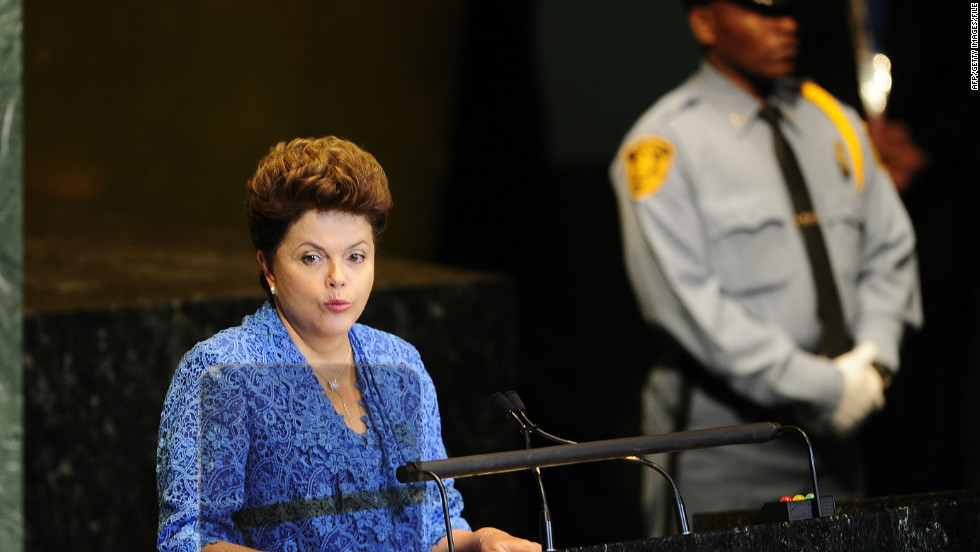 Dilma Rousseff assumed office in January 2011, becoming the first woman to become Brazil's president. Other female leaders in Latin America are Laura Chinchilla and Cristina Fernández de Kirchner, presidents of Costa Rica and Argentina, respectively.