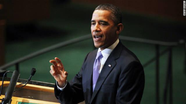 Obama applauds freedom's progress at U.N.
