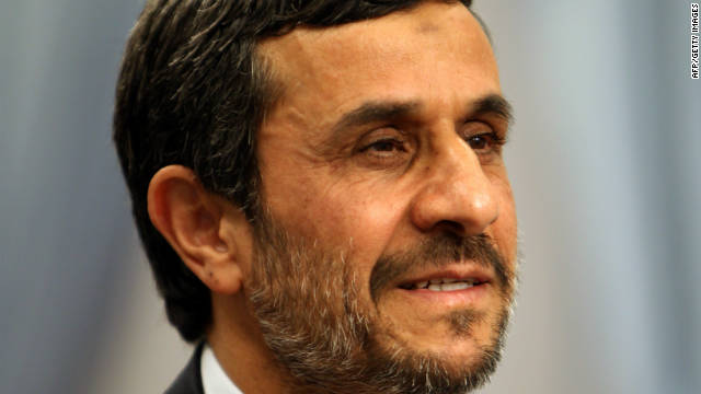 Mahmoud Ahmadinejad rejected claims that linked his government to the largest case of bank fraud in Iranian history.