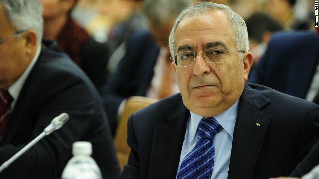 Palestinian Prime Minister, Salam Fayyad