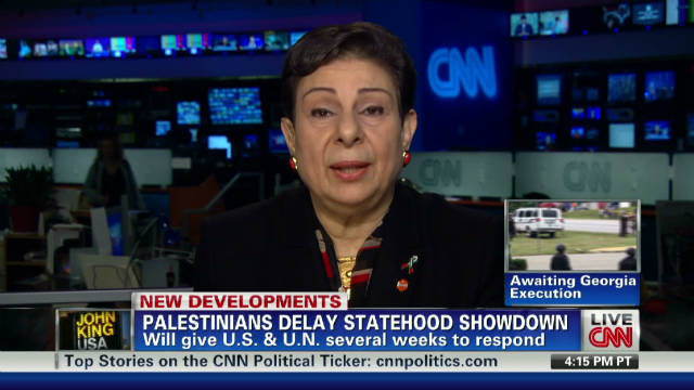Ashrawi: Palestine needs intl. law