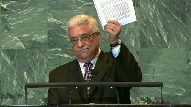 Palestinians bid for statehood at U.N.