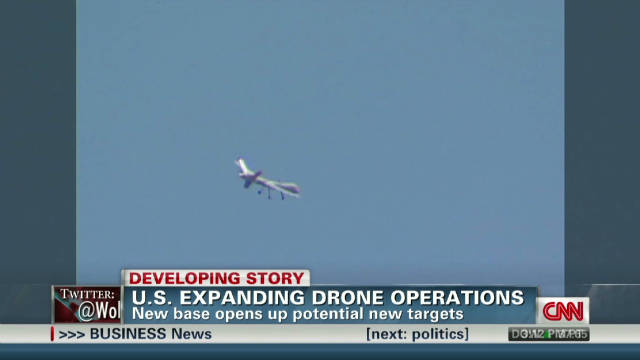 U.S. expanding drone ops