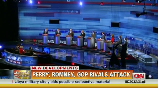 GOP hopefuls on the attack at debate
