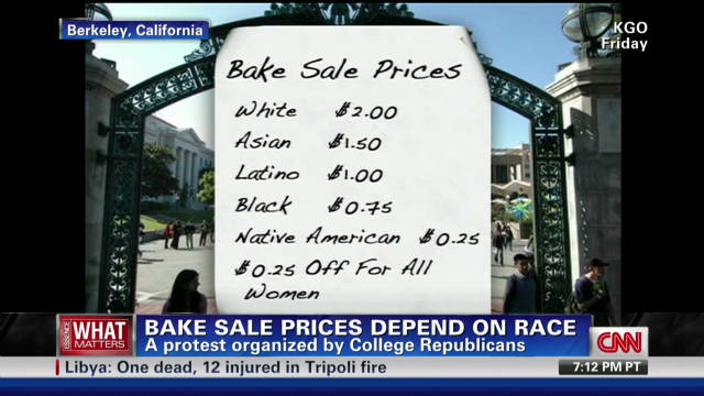 Bake sale prices depend on race