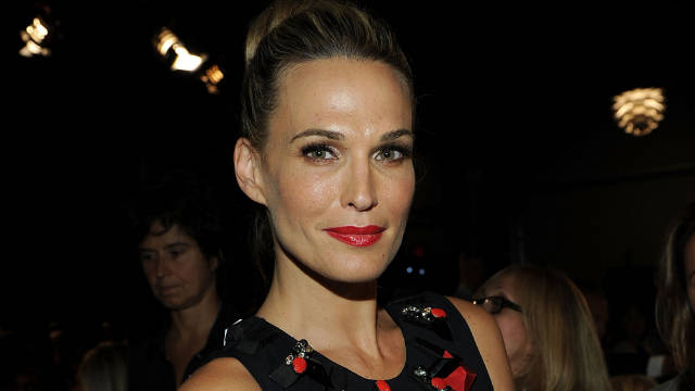 "Molly Sims modeled before turning to acting in shows such as ""Las Vegas."""