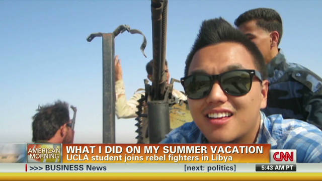 UCLA student joins Libyan rebels' fight