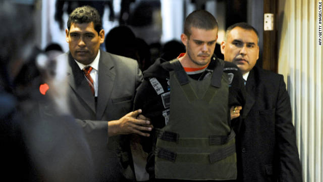 Joran Van der Sloot is accused of killing Stephany Flores in his Lima hotel room last year.