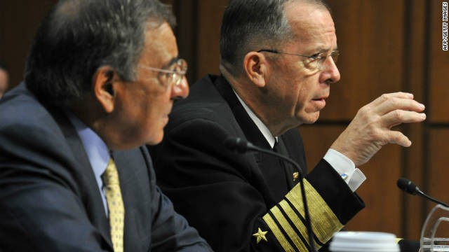 Joint Chiefs of Staff, Adm. Mike Mullen (R), made allegations last week that Pakistan's Intelligence agency has direct links with the Haqqani network.
