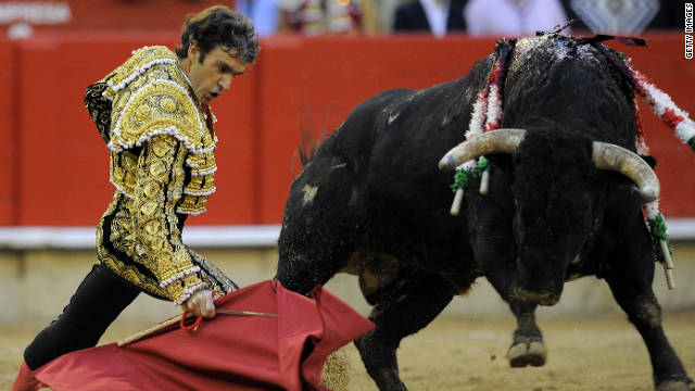 Bullfight ban in Barcelona