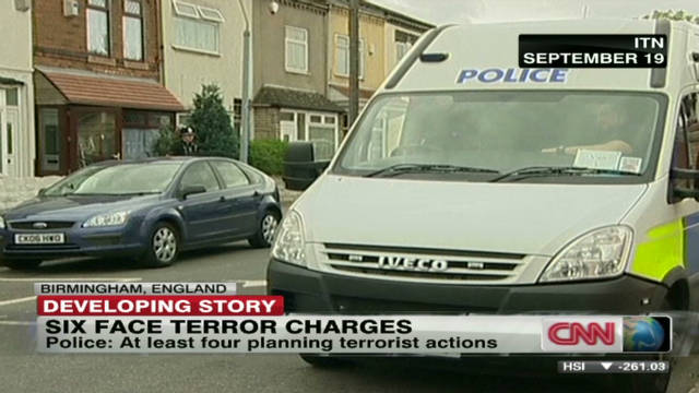 Six terror suspects in British court
